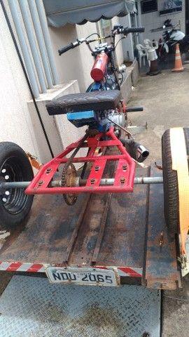 Vendo triciclo e carretinha - Foto 4