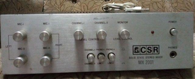 Mixer CRS mx2001
