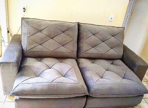 Sofá novo Inclinável e retrátil - Foto 4