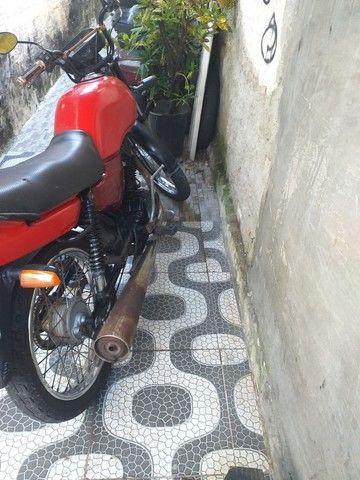 Moto cg 125 ano 1998 de leilão só que emplacar  - Foto 3