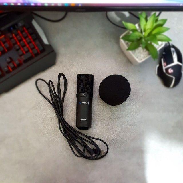 Microfone Arcano Black AM-Black-1
