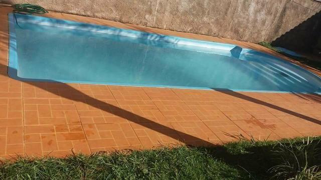 Edicula com piscina