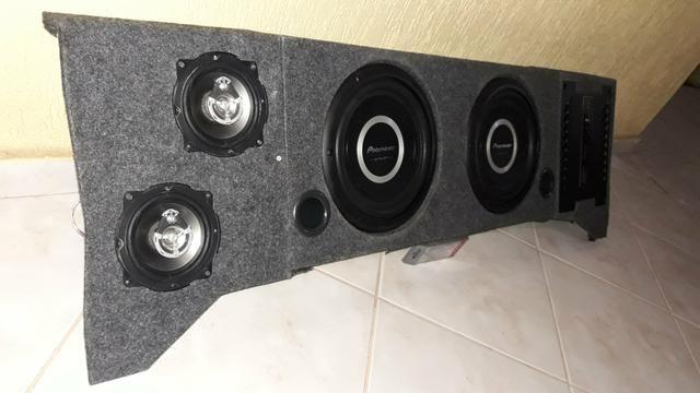 Caixa de som projetada mdf - Foto 2