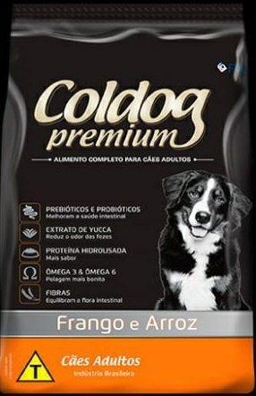 Ração Coldog Premium. *Chips* Adulto 25kg * Avista - Foto 4