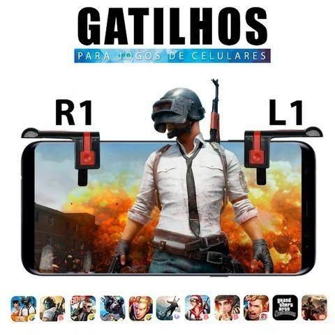 Gatilhos para Jogos de Tiro R1 e L1 - Foto 2