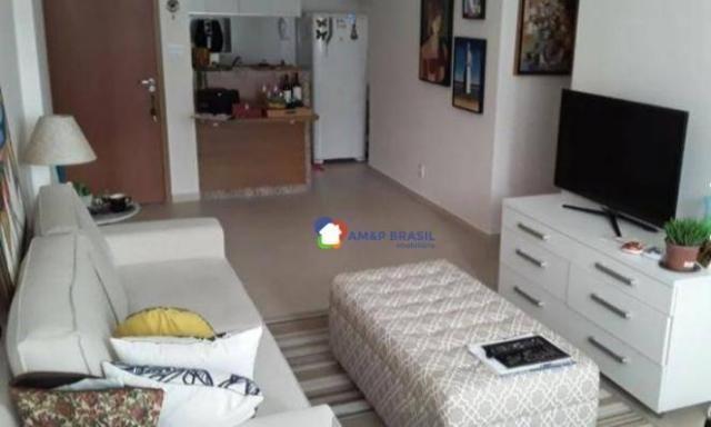 Apartamento com 2 dormitórios à venda, 58 m² por R$ 310.000,00 - Setor Bueno - Goiânia/GO - Foto 2