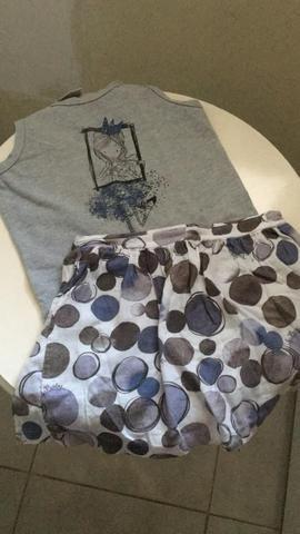 Lote roupas menina 6 anos - Foto 3