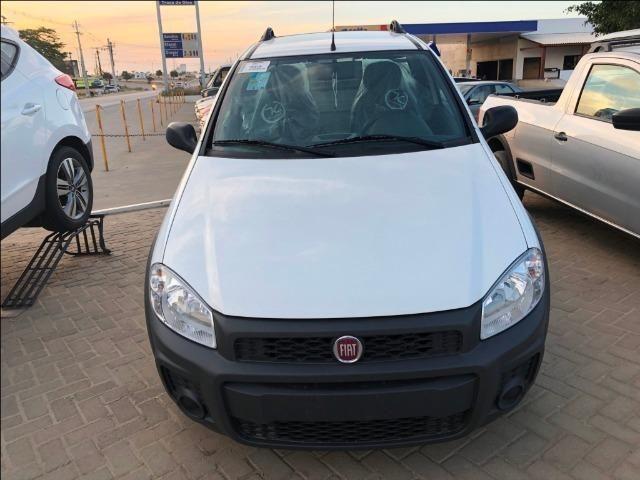 Fiat strada cabine simples working 1.4 2020 - Foto 2