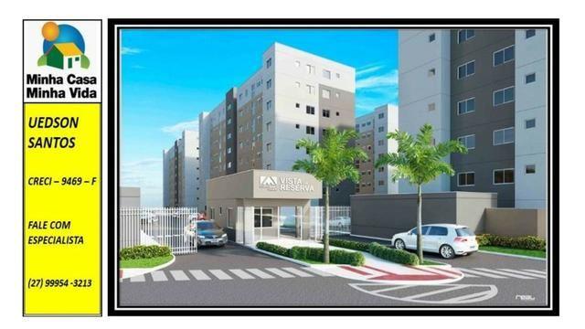 UED-19 - Apartamento 2 quartos vista da reserva - Foto 4