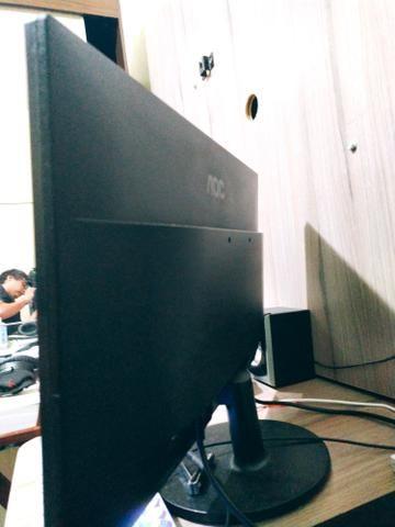 """Monitor AOC Gamer LED 21,5"""" 1ms NOVO - Foto 2"""