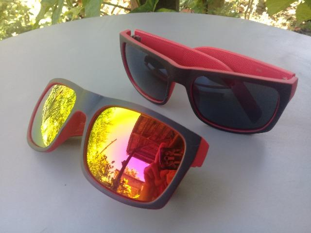 Óculos escuros vermelhos novos 20 reais cada - Foto 5