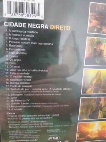 DVD do Cidade Negra - Foto 3
