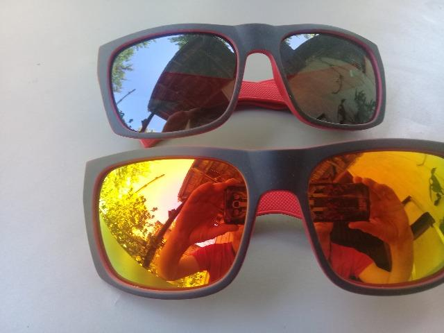 Óculos escuros vermelhos novos 20 reais cada - Foto 6