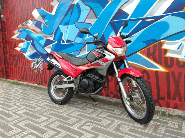 Honda nx4 falcon 2005 troco por moto de menor cilindrada - Foto 9