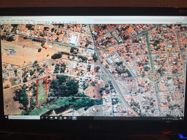 Área em Senador Canedo - Centro, Para Construir Casas Financiada Bem Localizada 9.080 M2