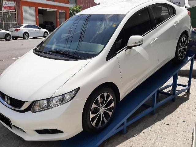 Vendo Honda Civic 2014/2015 LXR 2.0 Branco - Foto 3