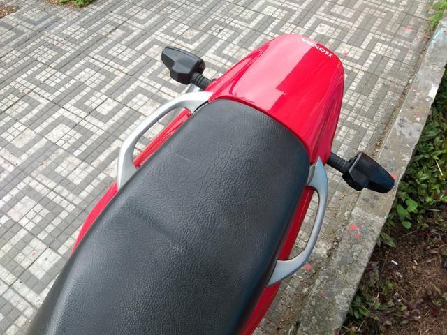 Honda nx4 falcon 2005 troco por moto de menor cilindrada - Foto 4