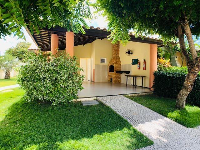 CA0923 - Casa plana com 3 suítes, dependência e lazer completo em condomínio fechado - Foto 19