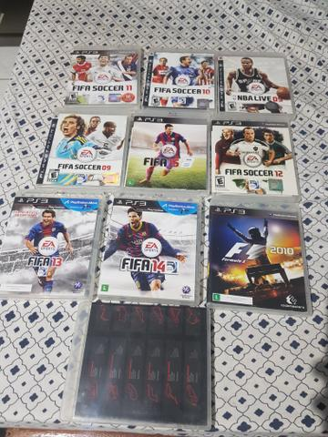 Vendo jogos do PS3 15 reais cada