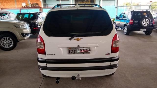 Chevrolet Zafira ZAFIRA 2.0 MPFI ELEGANCE 8V FLEX 4P MANUAL 4P - Foto 13