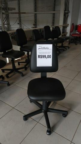 Cadeira Giratória $99 Back System - Foto 4