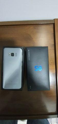 "Smartphone Samsung Galaxy S8 Dual Chip Android 9.0 Pie - Tela 5.8"" Câmera 12MP - Prateado - Foto 2"