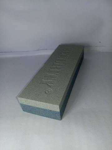Pedra Amolar Afiar Faca security Dupla Face uso domiciliar ou profissional - Foto 4
