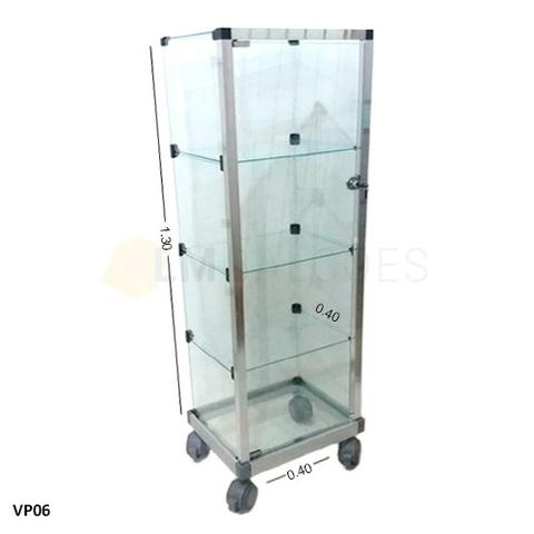Vitrine com porta para lojas - 0,40 x 1,30 x 0,30 frete gratis SP