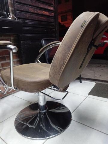 Cadeira de Barbeiro ou Cabeleireiro - Foto 3