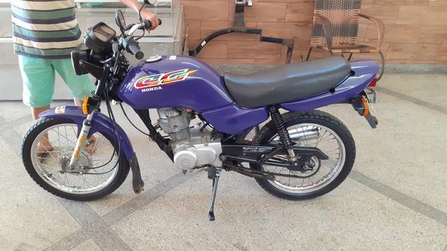Cg 125 ano 98 emplacada relíquia kleyton motos zap * - Foto 7