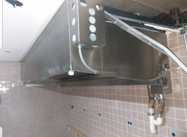Coifa Lavadora Melting E Exaustor - 3m X 1,20m