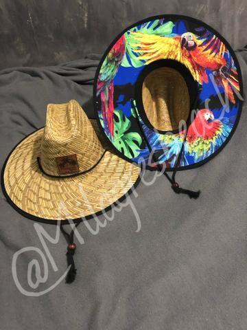 636feae5262 Vendo chapéu de palha surf!