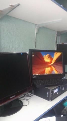 Cpu All In One Thinkcentre Lenovo A70z Core2 Duo 2gb Ddr3 Hd 250gb - Foto 4