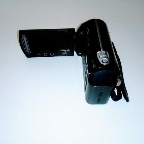 Filmadora JVC Evério zoom ótico 45 X 8GB + SD