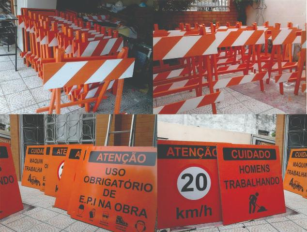 Pintura Vagas estacionamento, sinalização solo, pintura, demarcação solo, - Foto 6