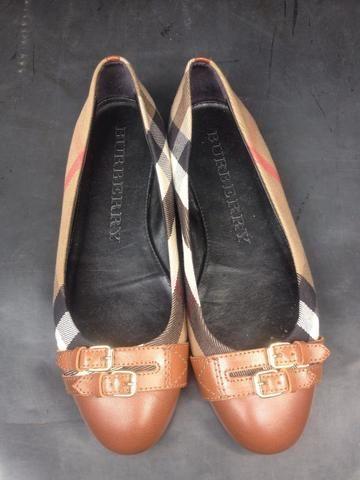 3ceeca114 Sapatilha Xadrez Burberry (usada) - Roupas e calçados - Paulo Vi ...