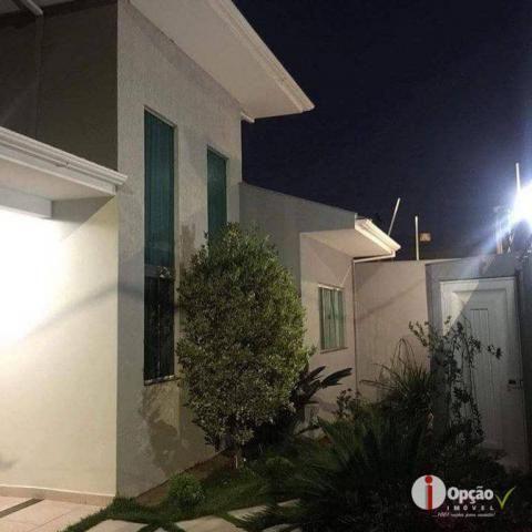 Casa com 3 dormitórios à venda, 234 m² por r$ 550.000,00 - residencial portal do cerrado -