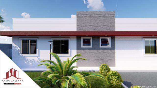 Casa à venda com 3 dormitórios em Gralha azul, Fazenda rio grande cod:CA00106 - Foto 3