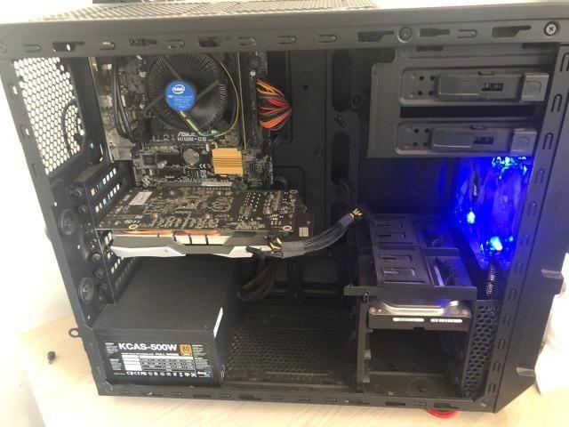 Pc Gamer Core I5 7400 Gtx 1060 6gb 8gb RAM - Foto 5