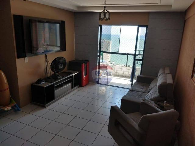 Apartamento 03 qtos, 02 suítes com vista para o mar - Foto 11
