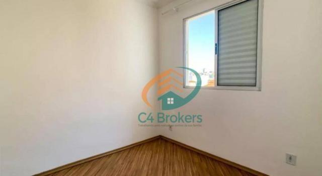 Apartamento com 2 dormitórios para alugar, 45 m² por R$ 1.547,00/mês - Ponte Grande - Guar - Foto 9