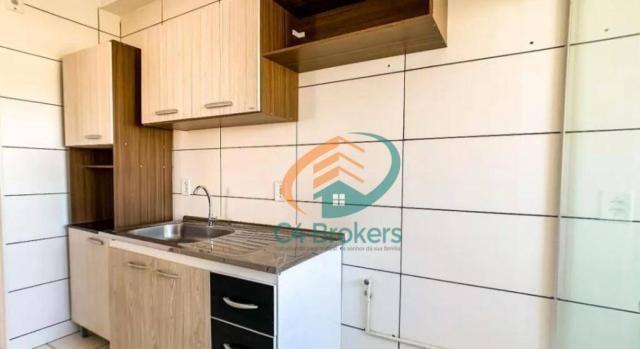 Apartamento com 2 dormitórios para alugar, 45 m² por R$ 1.547,00/mês - Ponte Grande - Guar - Foto 5