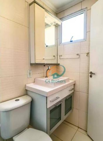 Apartamento com 2 dormitórios para alugar, 45 m² por R$ 1.547,00/mês - Ponte Grande - Guar - Foto 20
