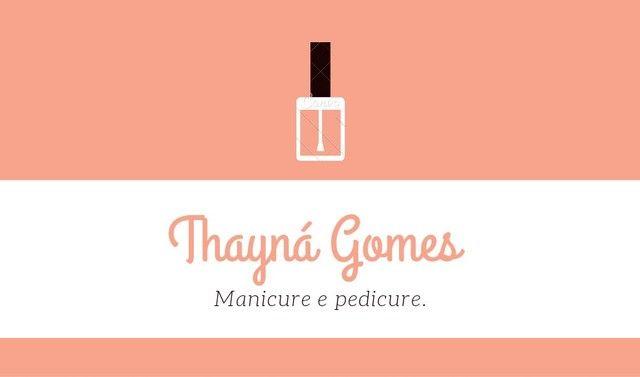 Manicure e pedicure.