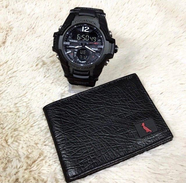 Kit relógio e carteira disponível  - Foto 5