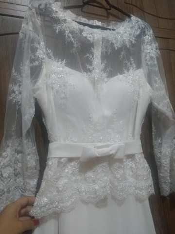 Vestido de noiva usado 1 vez só - Foto 5
