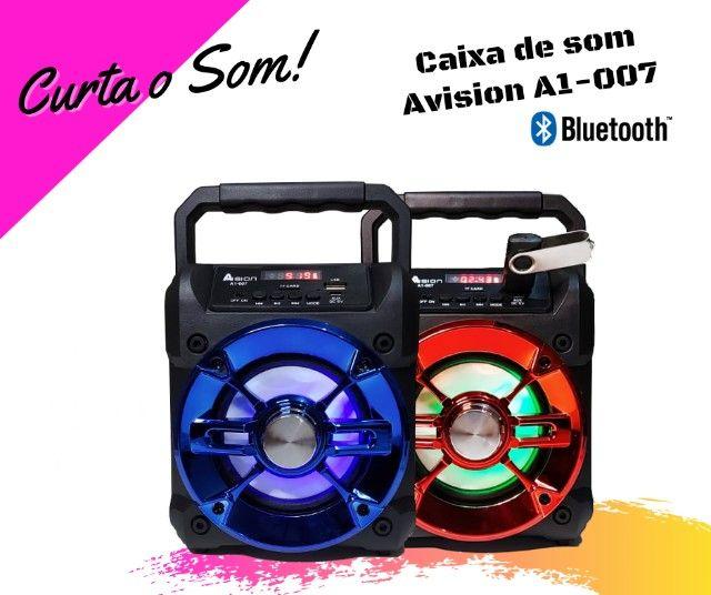 Caixa de Som Bluetooth   Avision A1-007