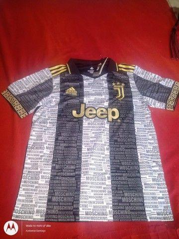 Camisa da Juventus 21/22 Tamanho M - Foto 3