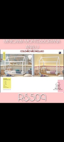 Mini cama montessoriana analu