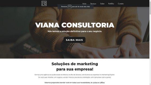 Criação de Site   Promoção   Viana Consultoria  - Foto 6